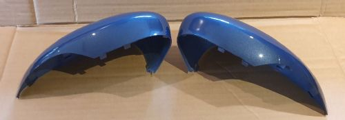 FORD FIESTA 08+ PAIR OF GENUINE WING MIRROR COVERS L/H AND R/H SIDE IN MIDNIGHT SKY